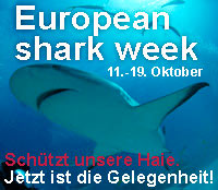 European Sharkweek 2008 Banner